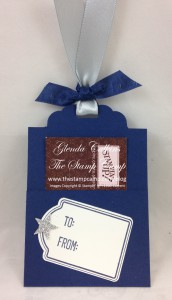 Gift Tag and Gift Card Holder