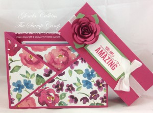 Featured Stamp Set for April Painted Petals Box