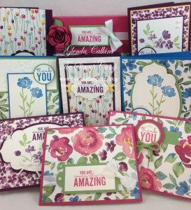 Painted Petals Featured Stamp Set for April Complete Set