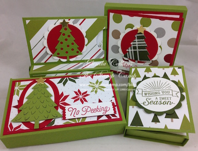 Featured Projects for December - Gift Card Holder/Treat Holders all in one!