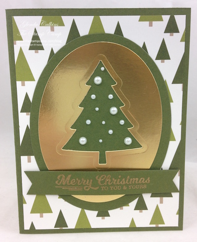 Stampin' Up! Perfect Pines Framelits