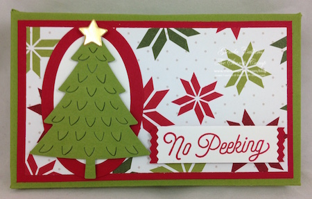 Gift Card Holder and Treat Holder all in One!
