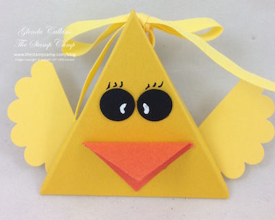Duck Easter Treat Holder
