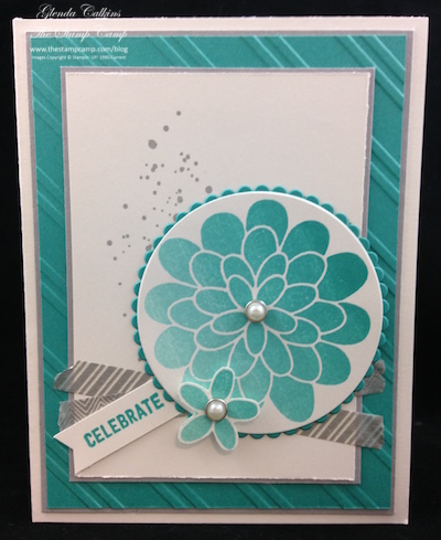 Stampin' Up! Flower Patch and the New Ombre Ink Pad