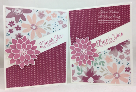 Stampin' Up! Blooms & Bliss with Flourishing Phrases