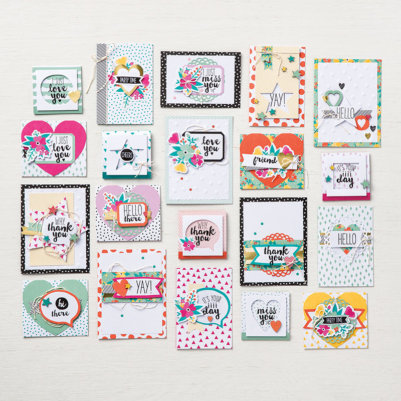 Stampin' Up! Oh Happy Day Card Kit!