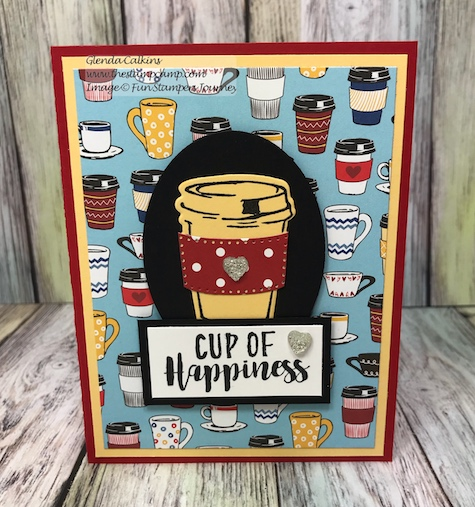 Fun Stampers Journey, glendasblog, the stamp camp, Coffee Helps Bundle