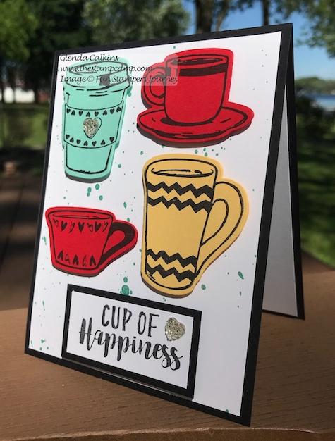 Coffee Helps Bundle, Fun Stampers Journey, the stamp camp, glendasblog