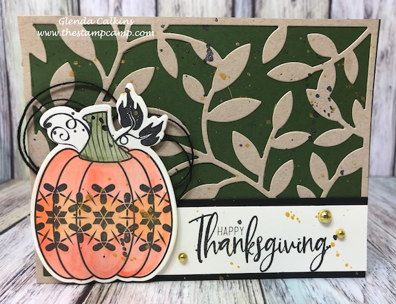Martha's Pumpkin, Fun Stampers Journey, glendasblog, the stamp camp