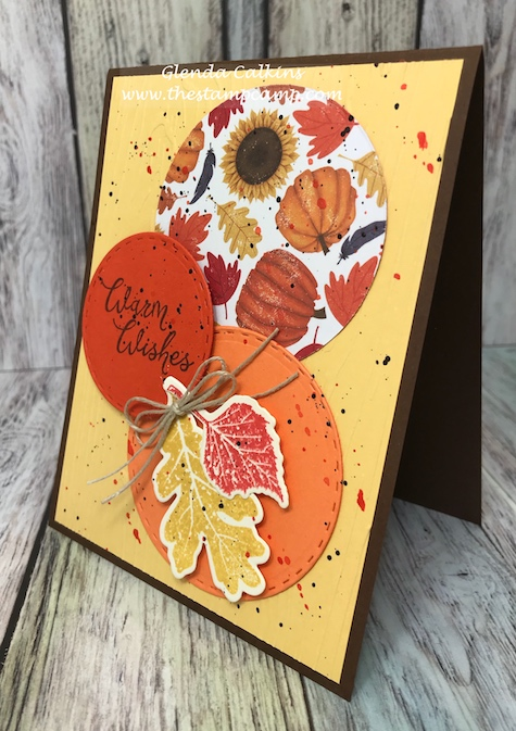 Hello Fall, Fun Stampers Journey, glendasblog, the stamp camp