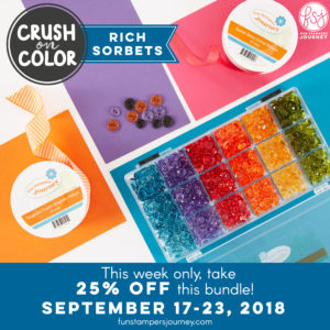 Rich Sorbet, Fun stampers JOurney, glendasblog, the stamp camp