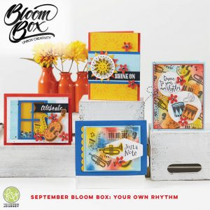 Your Own Rhythm Bloom Box from Fun Stampers Journey, the stamp camp