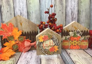 Trio of Houses for Your Fall Decor'