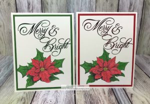 Glimmer Merry & Bright with Christmas Sprig
