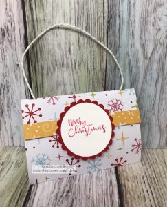 Purse Gift Card Holder using Cozy Prints