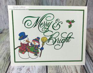 Snowmen Days with Glimmer Merry & Bright