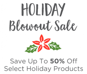Holiday Blowout Sale Begins!