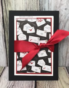 Follow Your Heart Prints Envelope Gift Card Holder