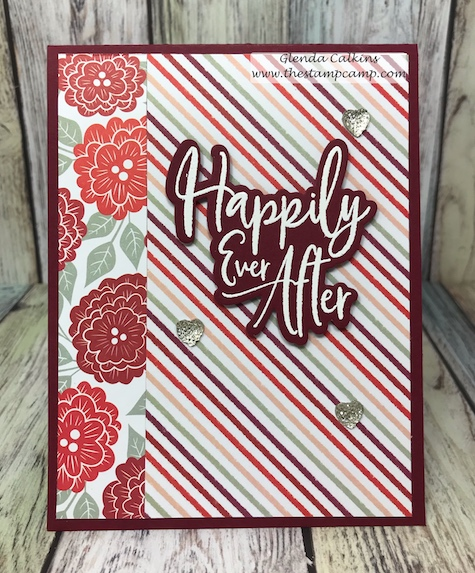 The Follow Your Heart prints pack from Fun Stampers Journey has a print for any of your upcoming occasions.  You can use these prints for more than just Valentine's.  #fsj #thestampcamp #printedpapers #cards