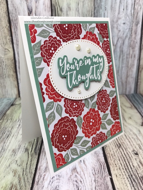 This fun print is part of the Follow Your Heart prints pack from Fun Stampers Journey.  This print pack isn't just for Valentine's. #card #prints #fsj #love