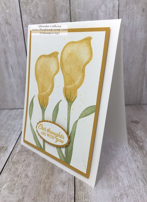 It's Sale-a-bration time with Stampin' Up! and what does that mean? Why a Free Sale-a-bartion item with every $50.00 order. This is just one of the lovely stamp sets you can choose from. #stampinup #thestampcamp #saleabration #lastinglily