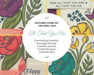 All That You Are Featured Stamp Set for April