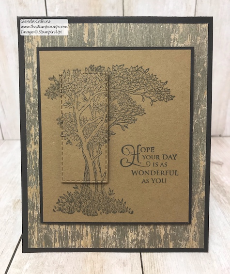 This is the Golden Afternoon stamp set from Stampin' Up! It is the perfect set to do the Faux Mother of Pearl technique with. Details: www.thestampcamp.com #stampinup #thestampcamp #techniques #cards