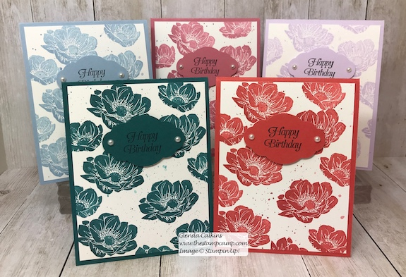 Beginning in June the New In Color 2019-2021 products will be available to purchase. Details on my IN Color club on my blog: www.thestampcamp.com #stampinup #incolors #thestampcamp #glendasblog