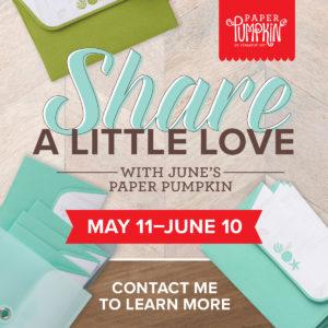 June's Paper Pumpkin Kit is Spread Kindness