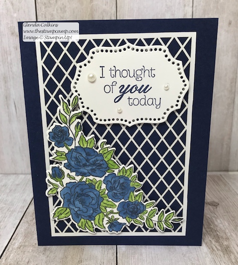 This intricate paper is part of the Delightfully Detailed Laser-Cut Specialty papers from Stampin' Up! Details on my blog: www.thestampcamp.com, #stampinup #thestampcamp #handmadecards