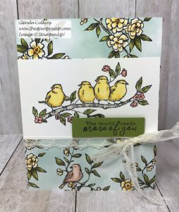 Stampin' Up! The Bird Ballad Suite