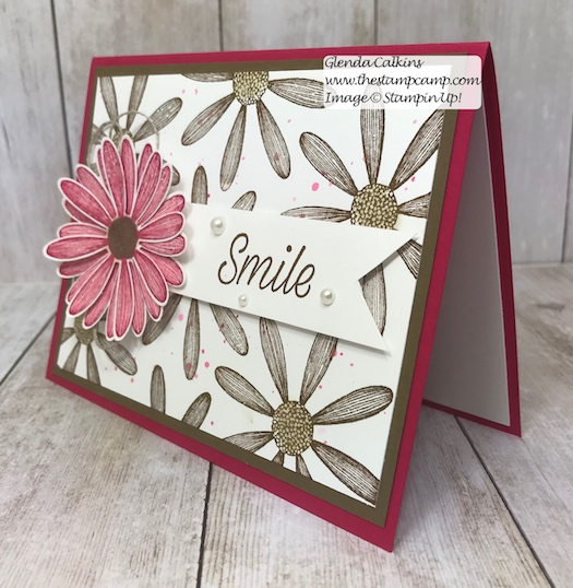 This is my featured stamp set for June it is the New Daisy Lane Bundle and I also added the Daisy punch. The bundle has the smaller Daisy punch in it. Details on my blog: https://wp.me/p59VWq-a94 #stampinup #thestampcamp #daisylane #stamps