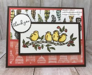 Stampin' Up! Free as a Bird Stamp Set