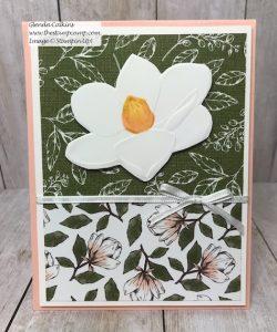 Stampin' Up! Magnolia 3D Embossing folder