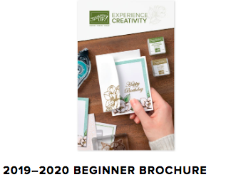 Stampin' Up! Beginners Brochure available on my blog. Click this link for details: #stampinup #beginnerstamper #thestampcamp #stamps