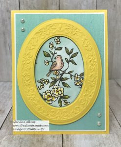 Bird Ballad Paper & Heirloom Dies/Embossing Folder