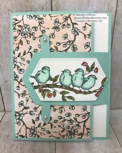 Tuesday's Tip & Technique Belted Bird Card