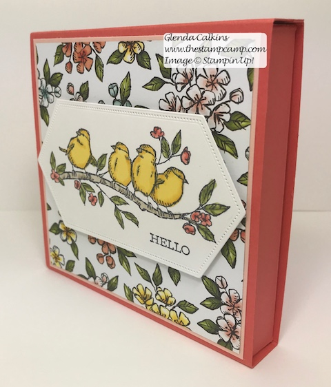 This is the Free As A Bird Bundle from Stampin' Up! This is my featured stamp set for July. Details can be found here: https://wp.me/p59VWq-aaP #stampinup #thestampcamp #freeasabird #birdballad
