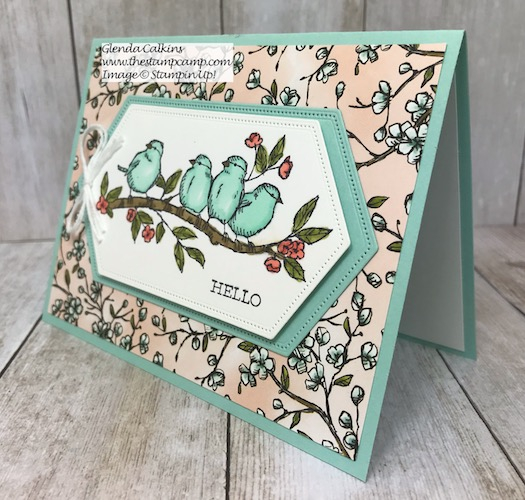 This is my featured stamp set for July. It is the Free As A Bird Bundle from Stampin' Up! Details can be found here: https://wp.me/p59VWq-agL #thestampcamp #stampinup #freeasabird #birdballad