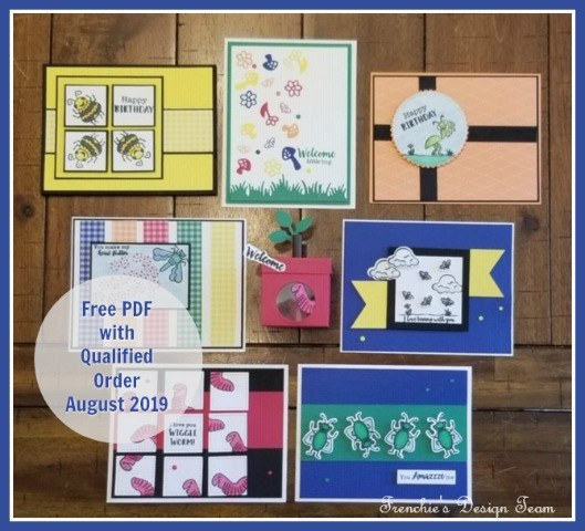 August Customer Appreciation PDF file is All About The Bugs With The Wiggle Worm Bundle from Stampin' Up! Details on my blog: https://glendasblog.com/all-about-the-bugs-with-the-wiggle-worm-bundle/ #stampinup #bugs #thestampcamp