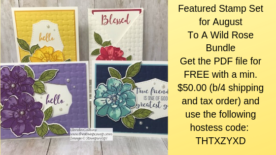 Featured Stamp Set for July is the Free As A Bird Bundle from Stampin' Up! Details on my blog here: https://wp.me/p59VWq-aaP #stampinup #thestampcamp #freeasabird #box