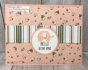 Soft and Sweet Baby Gift Card Holder