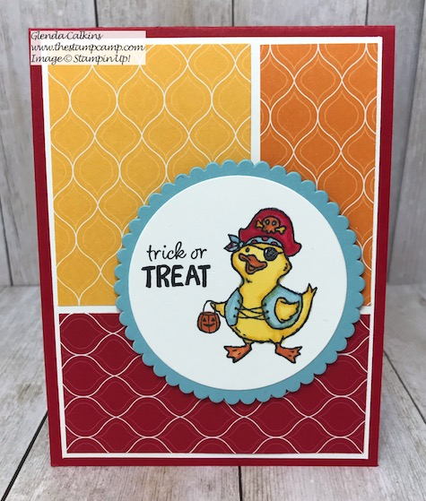 This is the Birds of a Feather stamp set from Stampin' Up! It has a cute little critter to take you from Halloween through Valentine's Day! Details and PDF File on my blog here: https://wp.me/p59VWq-aoL #stampinup #birdsofafeather #thestampcamp #stamps