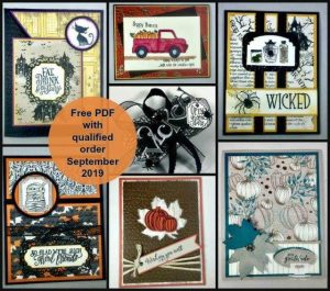 Customer Appreciation PDF file for September; free with qualified order. Details on my blog here: https://wp.me/p59VWq-amE #stampinup #pdf #stamp #cards #thestampcamp