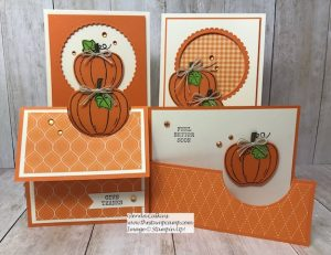 Stampin' Up! Harvest Hellos Pumpkin Time!