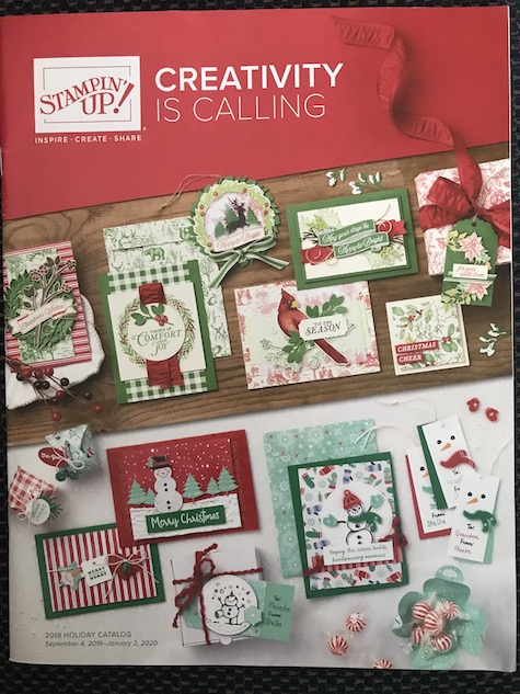 Holiday Mini Catalog from Stampin' Up! Details on how to get your copy on my blog here: https://wp.me/p59VWq-amE