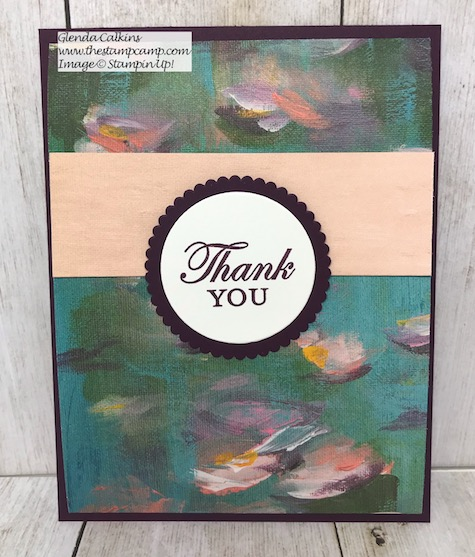 Perennial Essence Designer Series Paper from Stampin' UP! 1 sheet 3 gorgeous cards. Details and video on my blog here: https://wp.me/p59VWq-ao3 #stampinup #thestampcamp #designerpaper #funfold