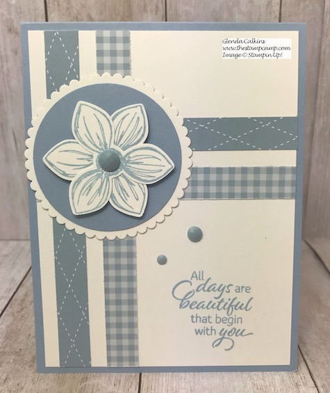 Floral Essence in all the New 2019 - 2021 In colors from Stampin' Up! Details on my blog: https://wp.me/p59VWq-asd #stampinup #incolors #thestampcamp #floralessence