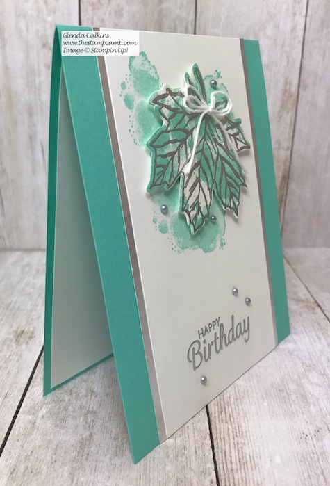 Believe it or not but I paired the Gather Together Stamp Set paired with the Geared Up Garage stamp set. Details can be found on my blog here: https://wp.me/p59VWq-ax0 #stampinup #thestampcamp #fall #leaves