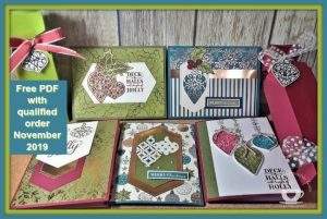 My featured stamp set for November is the Christmas Gleaming bundle. This month it is all about the Tent Topper cards; 4 different cards. Details on my blog here: https://wp.me/p59VWq-avH #stampinup #christmasgleaming #thestampcamp #technique